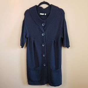 Vince short sleeve cardigan